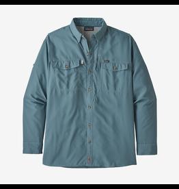 Patagonia Sol Patrol  II Men's Long Sleeve Shirt Pigeon Blue