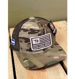 Stonebug Flag Patch Trucker Hat (MultiCam) *Made in USA