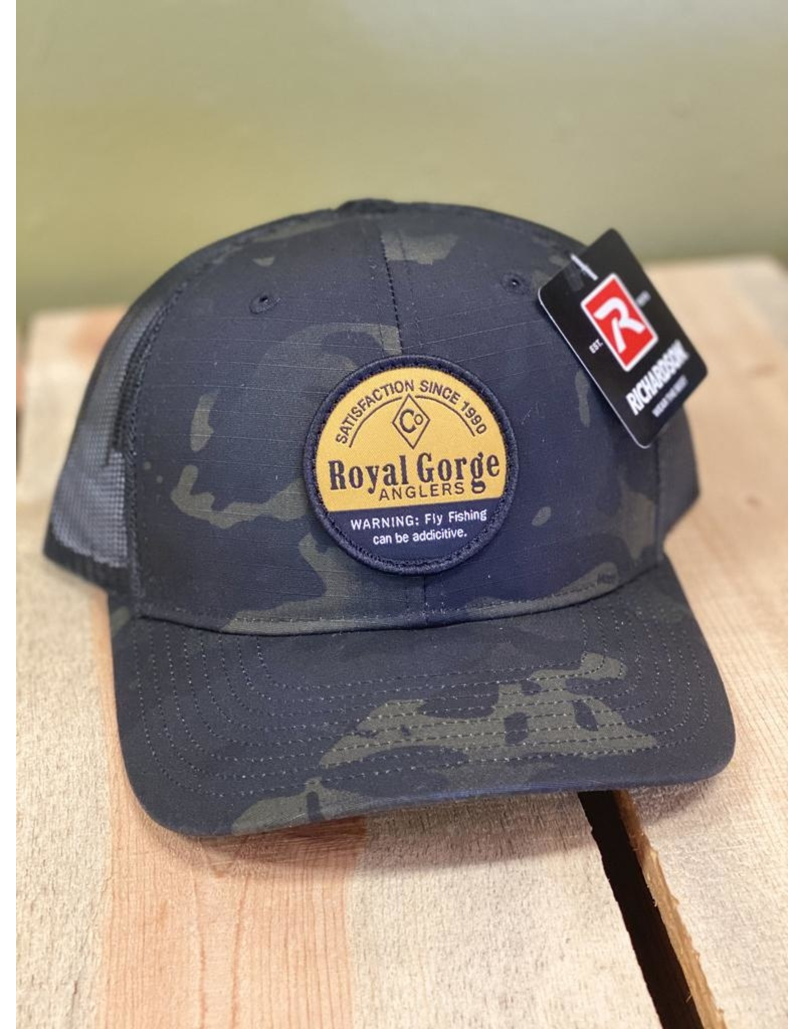 Awesome NEW Addictive Patch Camo Trucker!