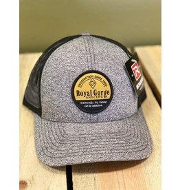 RGA Addictive Trucker Hat (Black Heather/ Black)