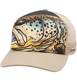 Simms Artist Series Fly Trucker Hat