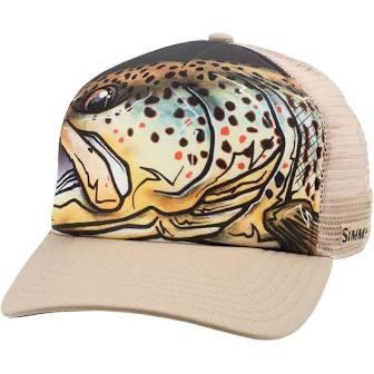 Simms Artist Series Fly Trucker Hat