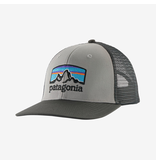 Patagonia Fitz Roy Horizons Trucker Hat Drifter Grey