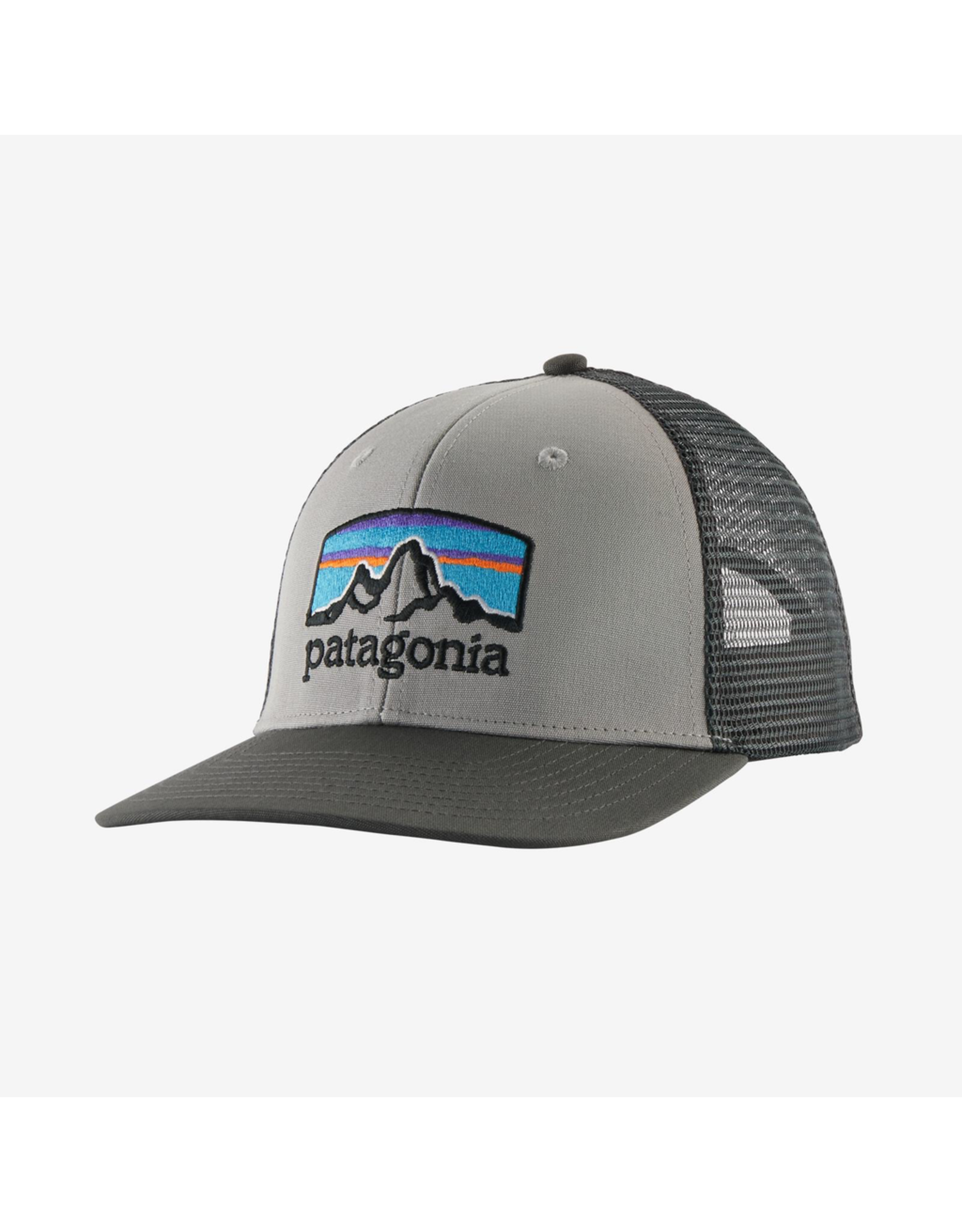 Patagonia Fitz Roy Horizons Trucker Hat Drifter Grey