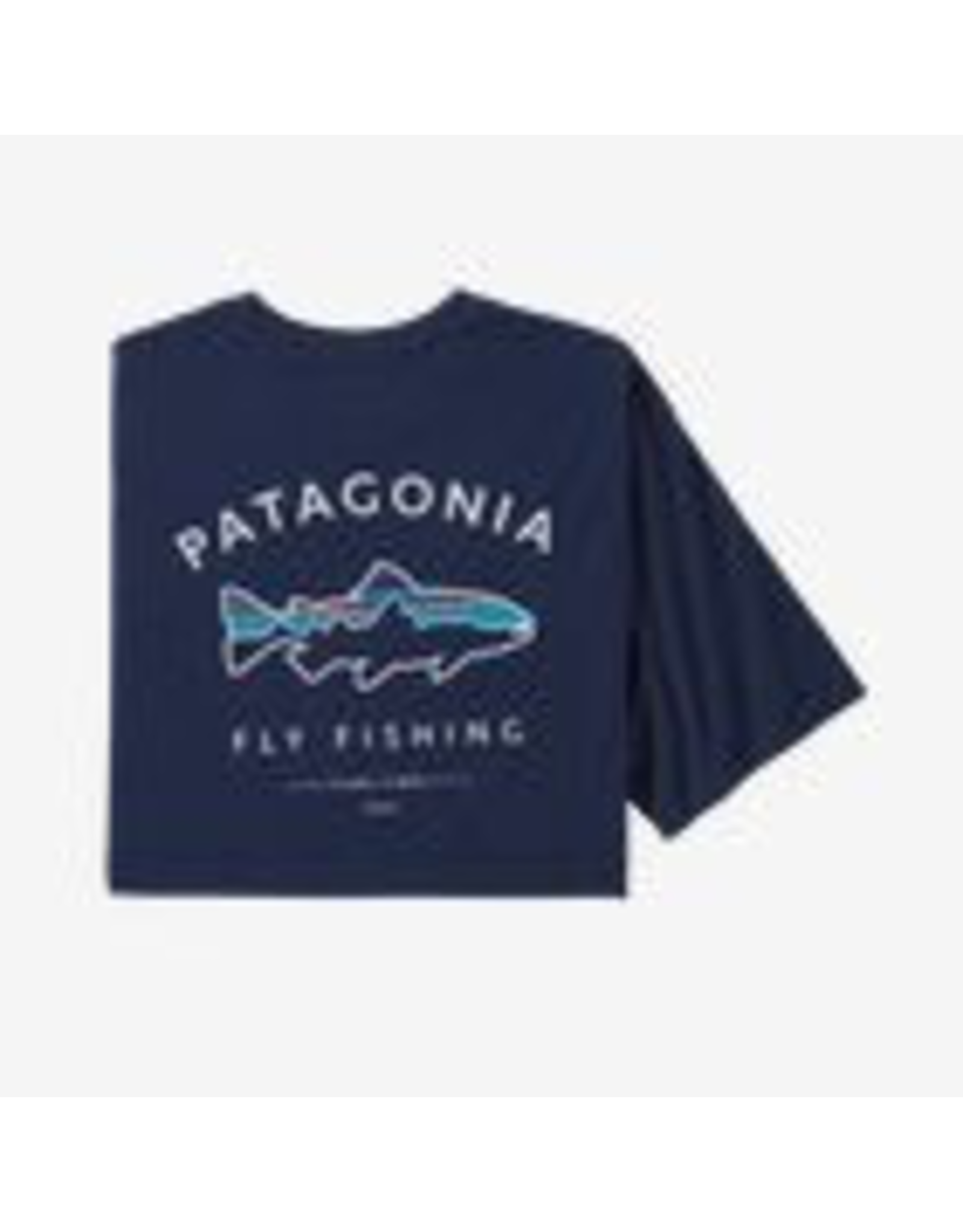 atagonia Men's Framed Fitz Roy Trout Organic Cotton T Shirt
