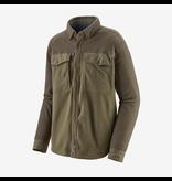 Patagonia Men's Long Sleeved Early Rise Snap Shirt Sage Khaki