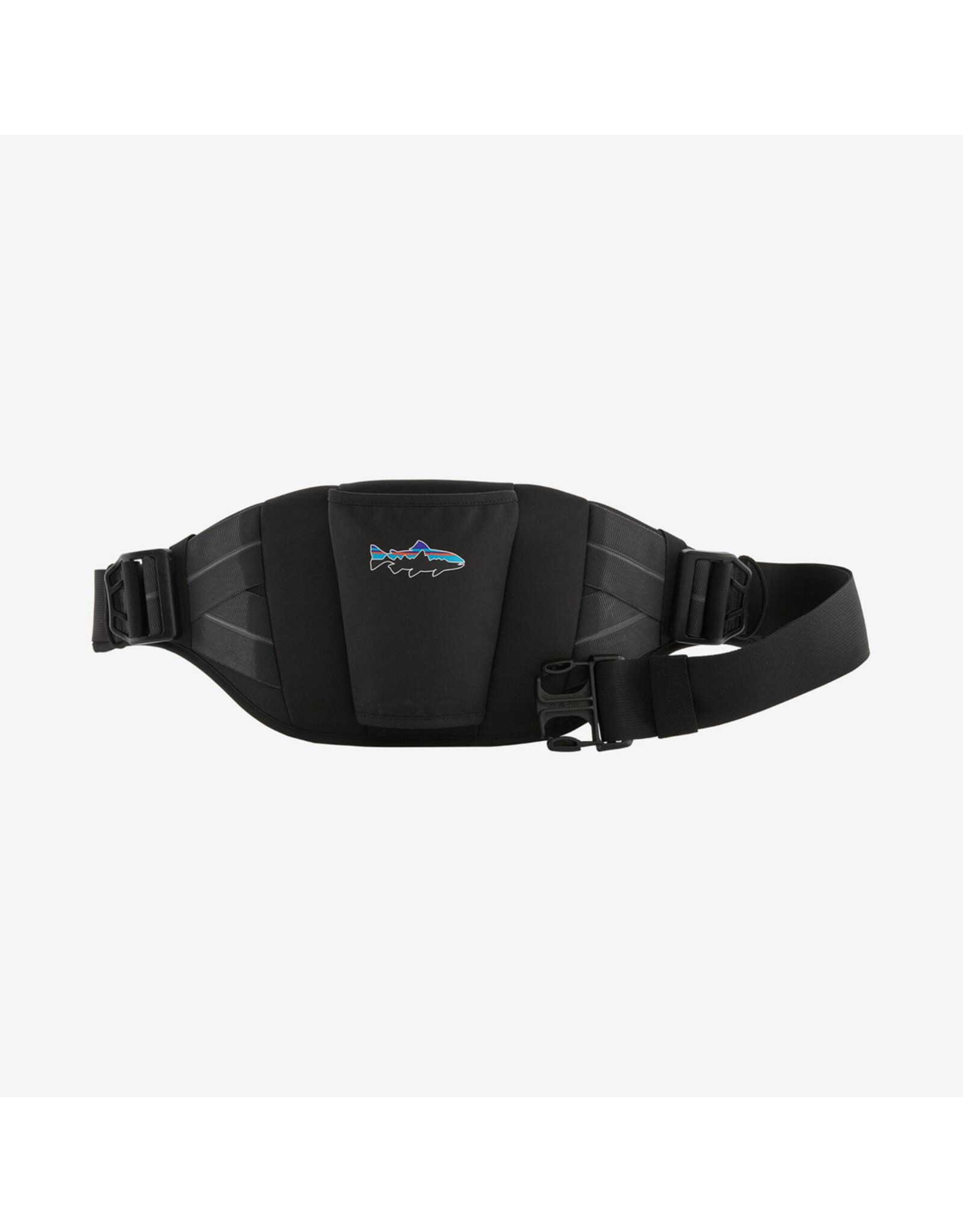 Our Wading Support Belt provides a sturdy, molded back assist for comfortable all-day wading. Available in two sizes, the fully adjustable belt covers a wide range of waist measurements, integrates into Patagonia waders and features a generous net sleeve