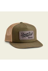 Howler Electric Stencil Snapback Fatigue/Old Gold
