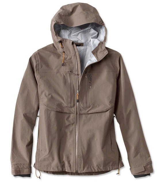 Shed water as you pull in fish wearing the well-appointed Clearwater Wading Jacket