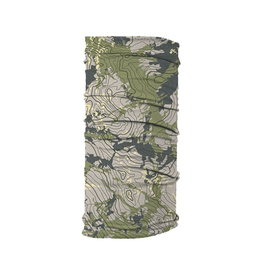 Rep Your Water Topo Camo FishMask (Face Mask)
