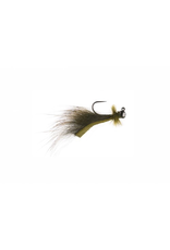 Mini Leech Jig Olive (2 pack)