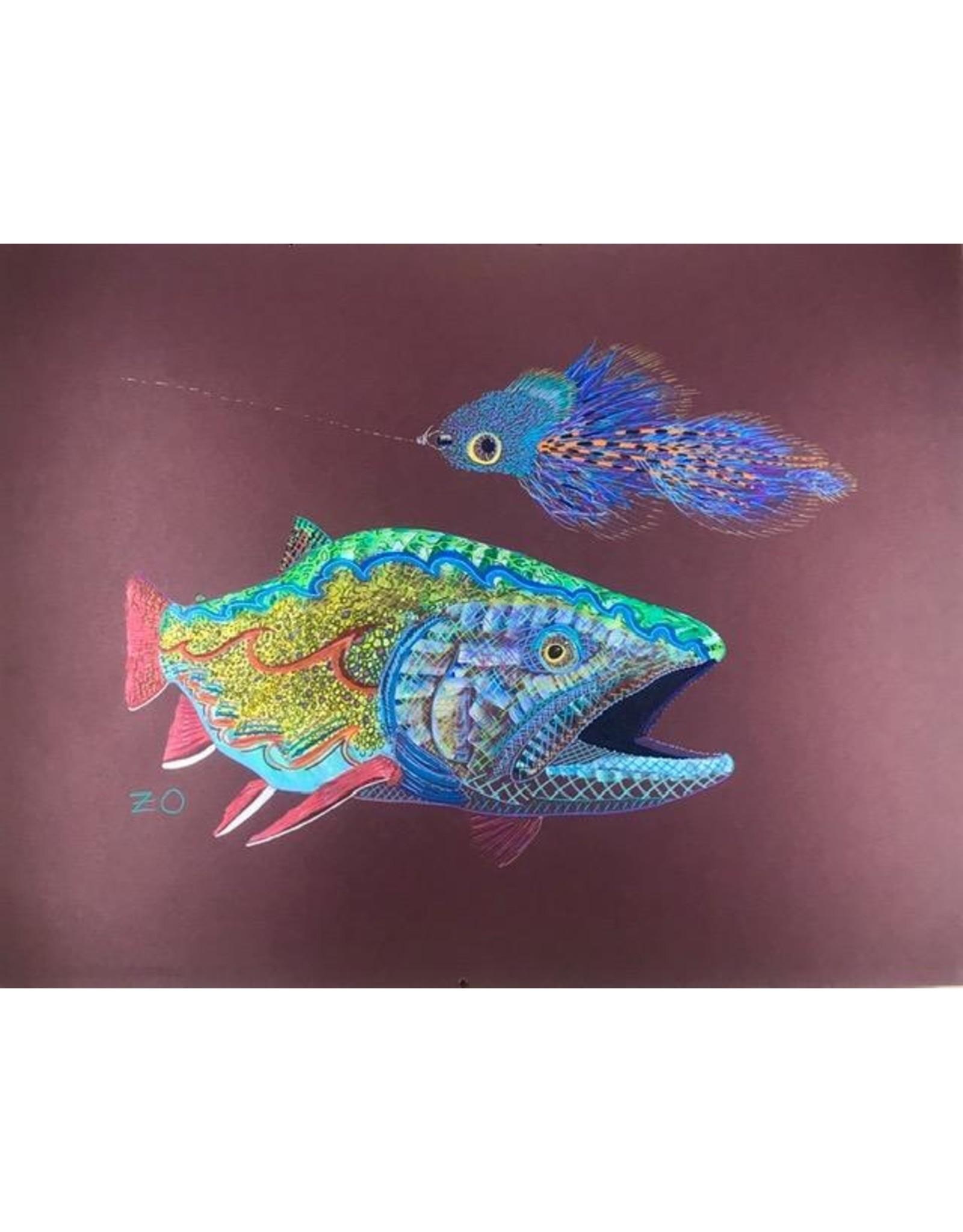 """Acrylic on Mi-Tientes paper 25.5""""x 19.5"""""""