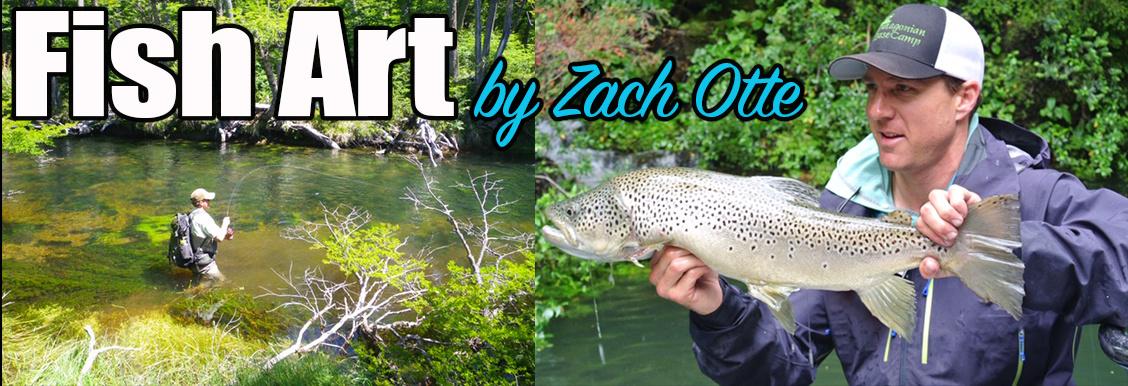 Zach Otte Fish Art