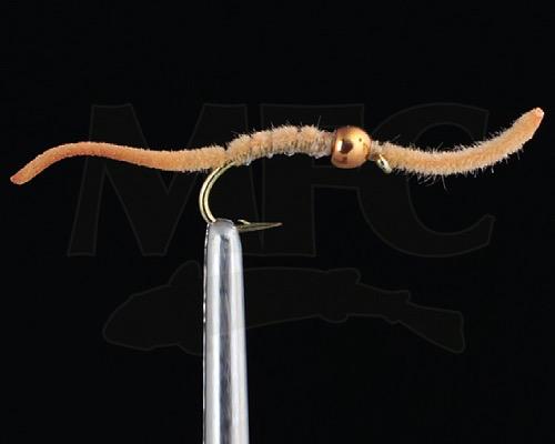 Micro San Juan Worm Tungsten. (3 Pack)