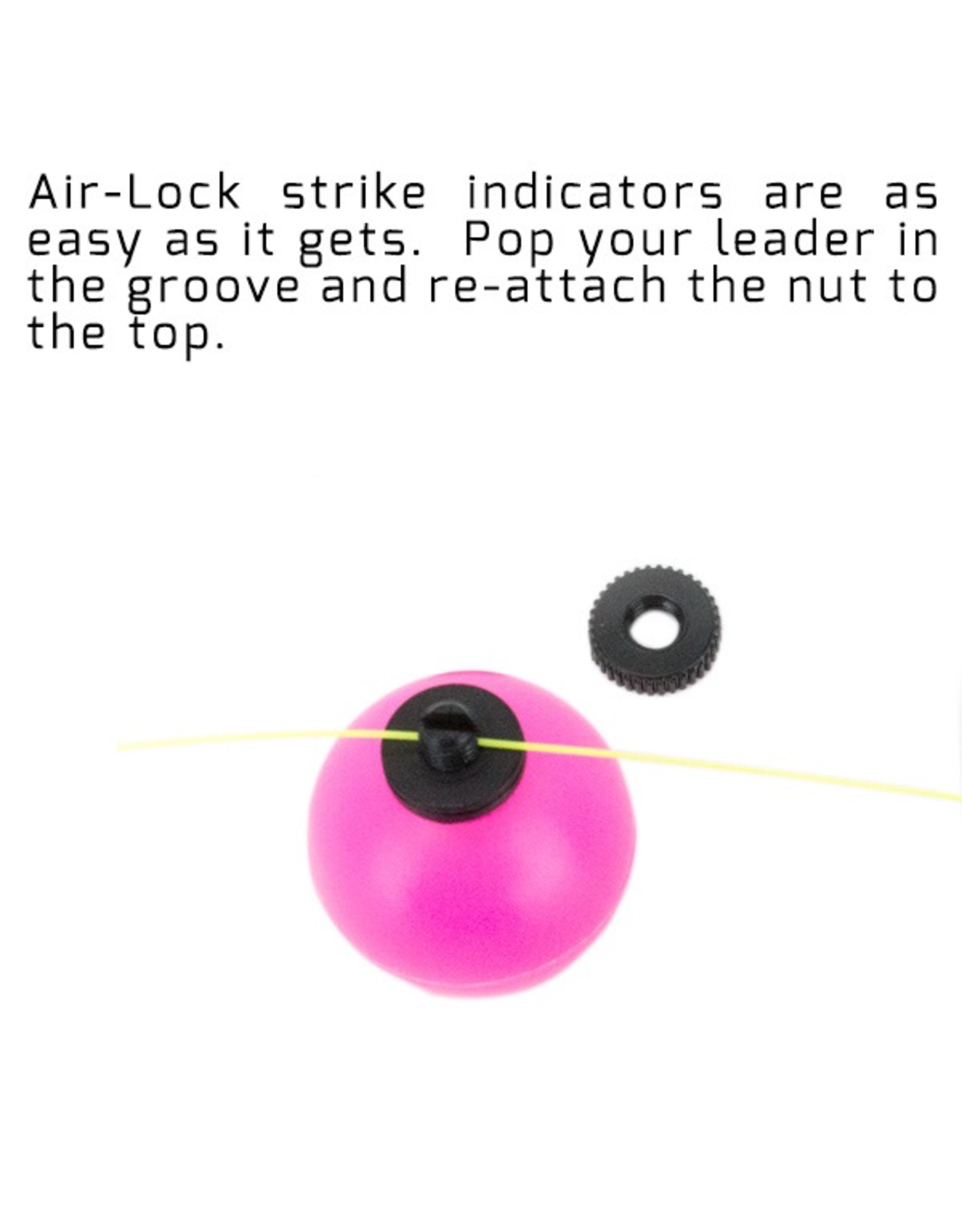 Air-Lock Strike Indicators NEW. 1/2 in and 3/4 in Three Pack