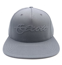 Scott SCOTT Pinch Snap Back Hat (Grey)