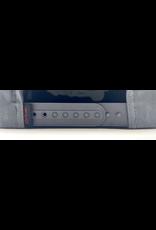 Scott Steel Grey pinch front premium cotton snap back