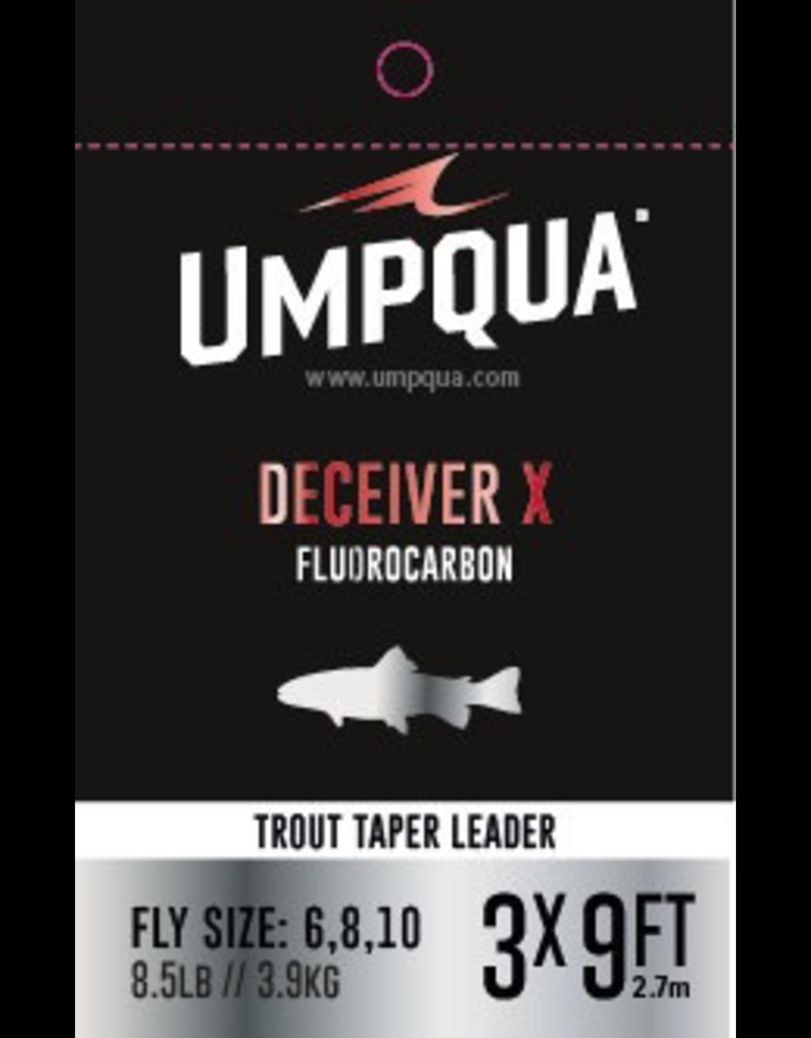 The finest premium fluorocarbon trout leaders Umpqua has ever made.