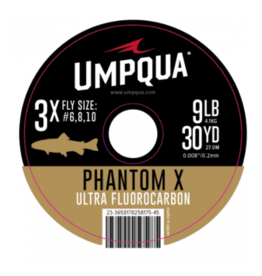 Umpqua Phantom X Ultra Fluorocarbon Tippet