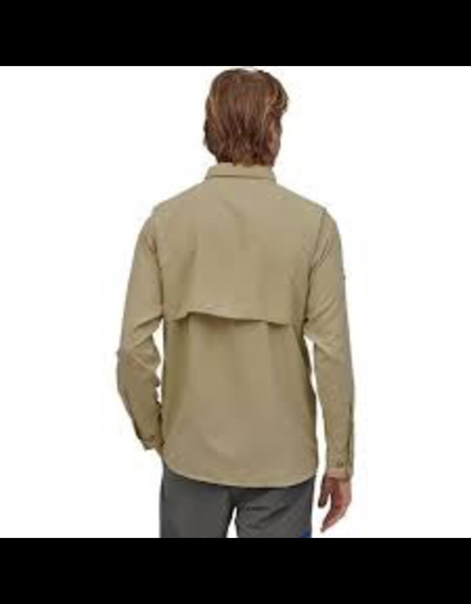 Paagonia Sol Patrol II Men's LS Shirt El Cap Khaki