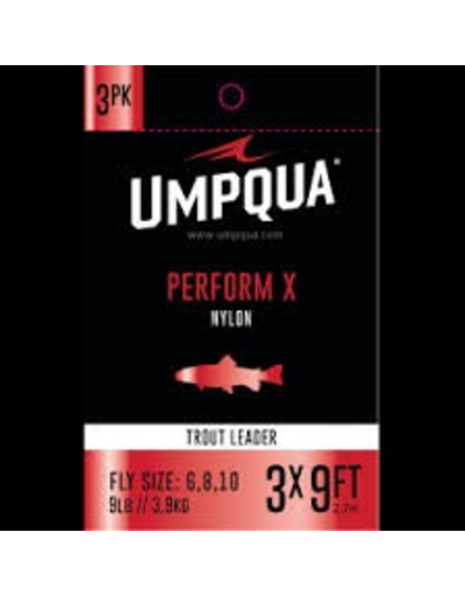 Umpqua Perform X Nylon Leader 3 Pack