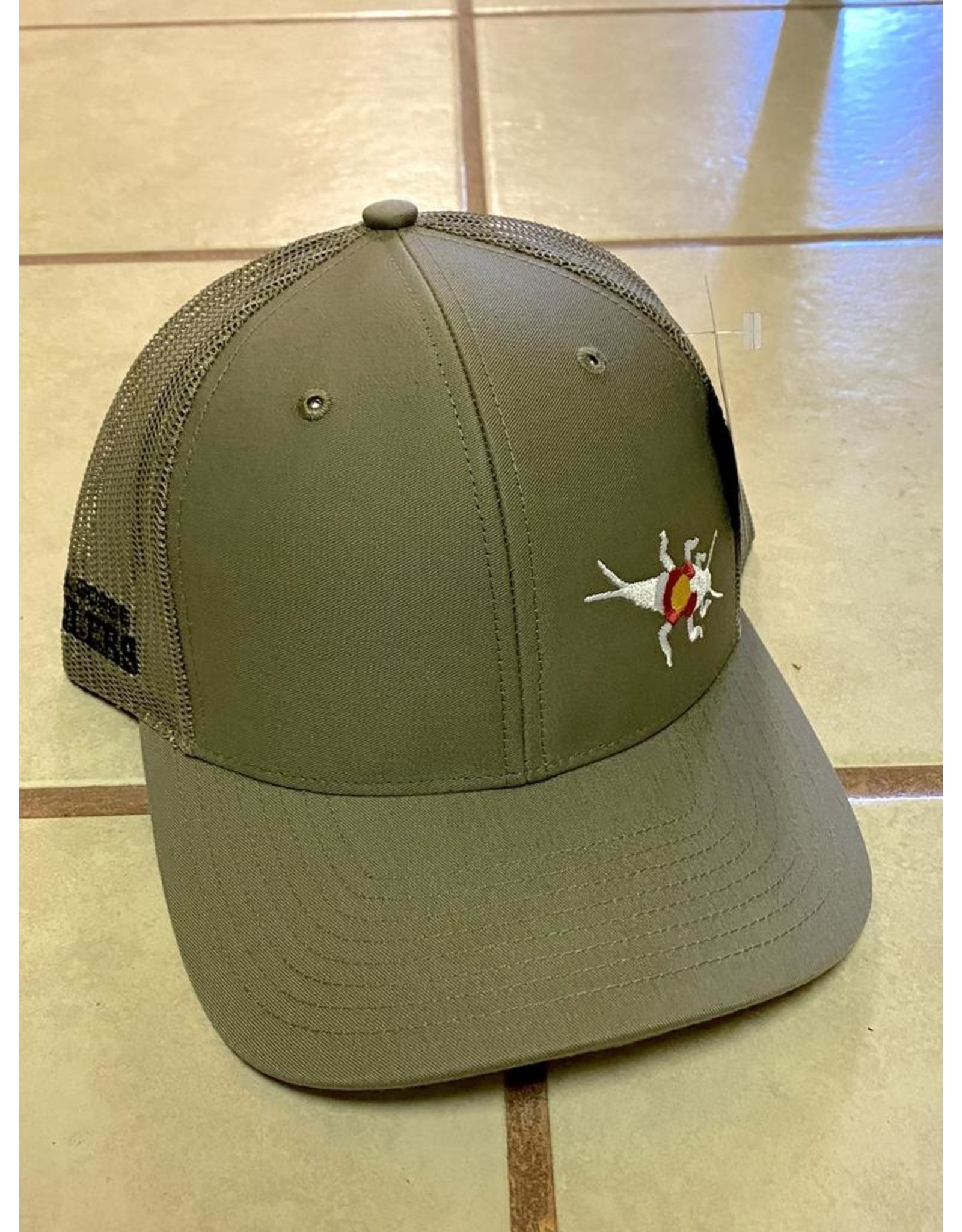 RGA Stonebug Trucker Green/White