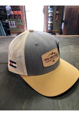 Feast your eyes on the coolest leather patch trucker to ever hit the water!
