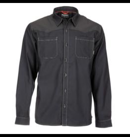 SIMMS Black's Ford Flannel LS Shirt