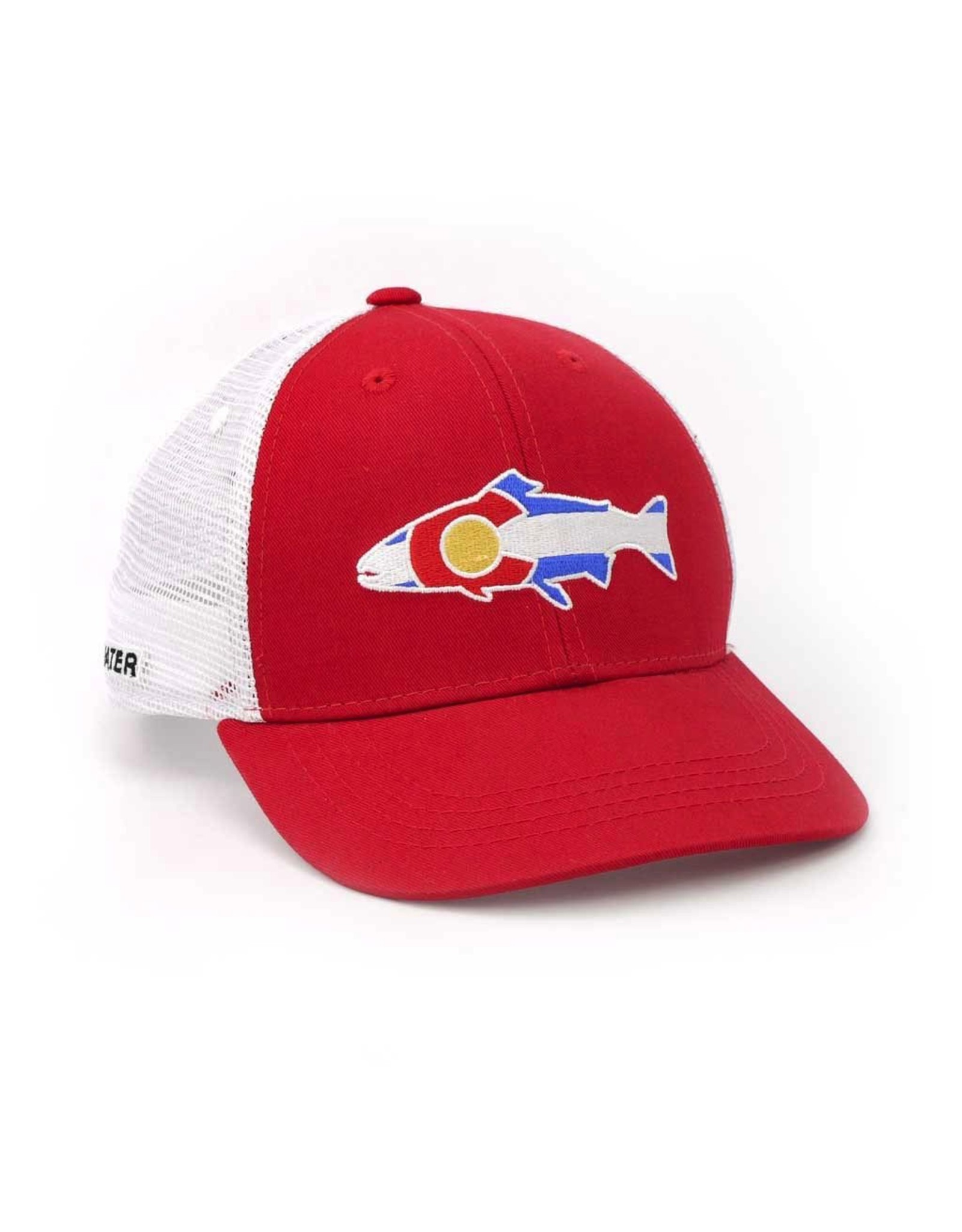 Rep Your Water Colorado Trout Trucker Lo Pro
