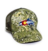 Rep Your Water Colorado Clarkii TopoCamo Trucker