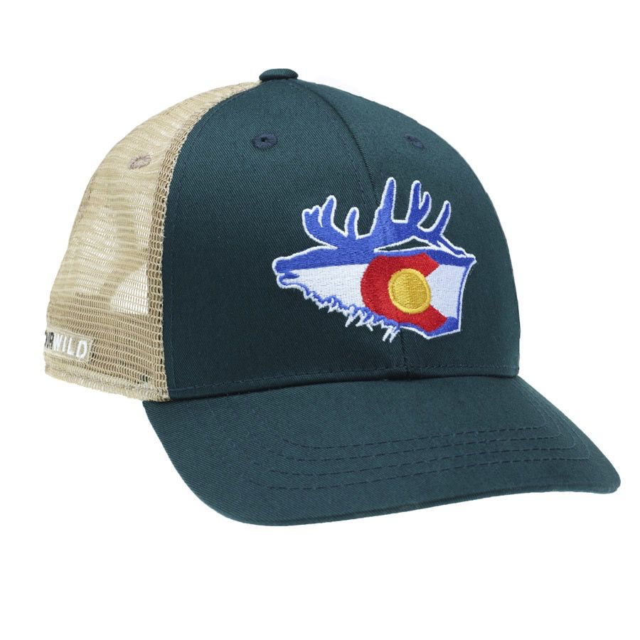 Rep Your Water Colorado Elk Trucker