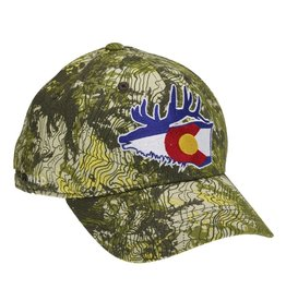 Rep Your Water Colorado Elk Full Cloth hat