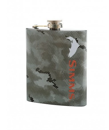 STAINLESS-STEEL 7 OZ. FLASK SIZED PERFECT FOR PACKS AND POCKETS