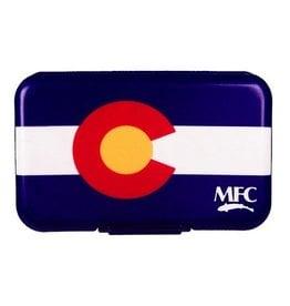 MFC Fly Box Poly State Flag Colorado