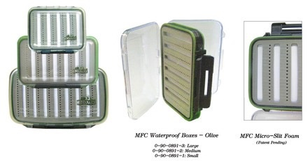 MFC Fly Box Waterproof Olive Large