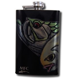 MFC Stainless Steel Hip Flask Estrada's Slam