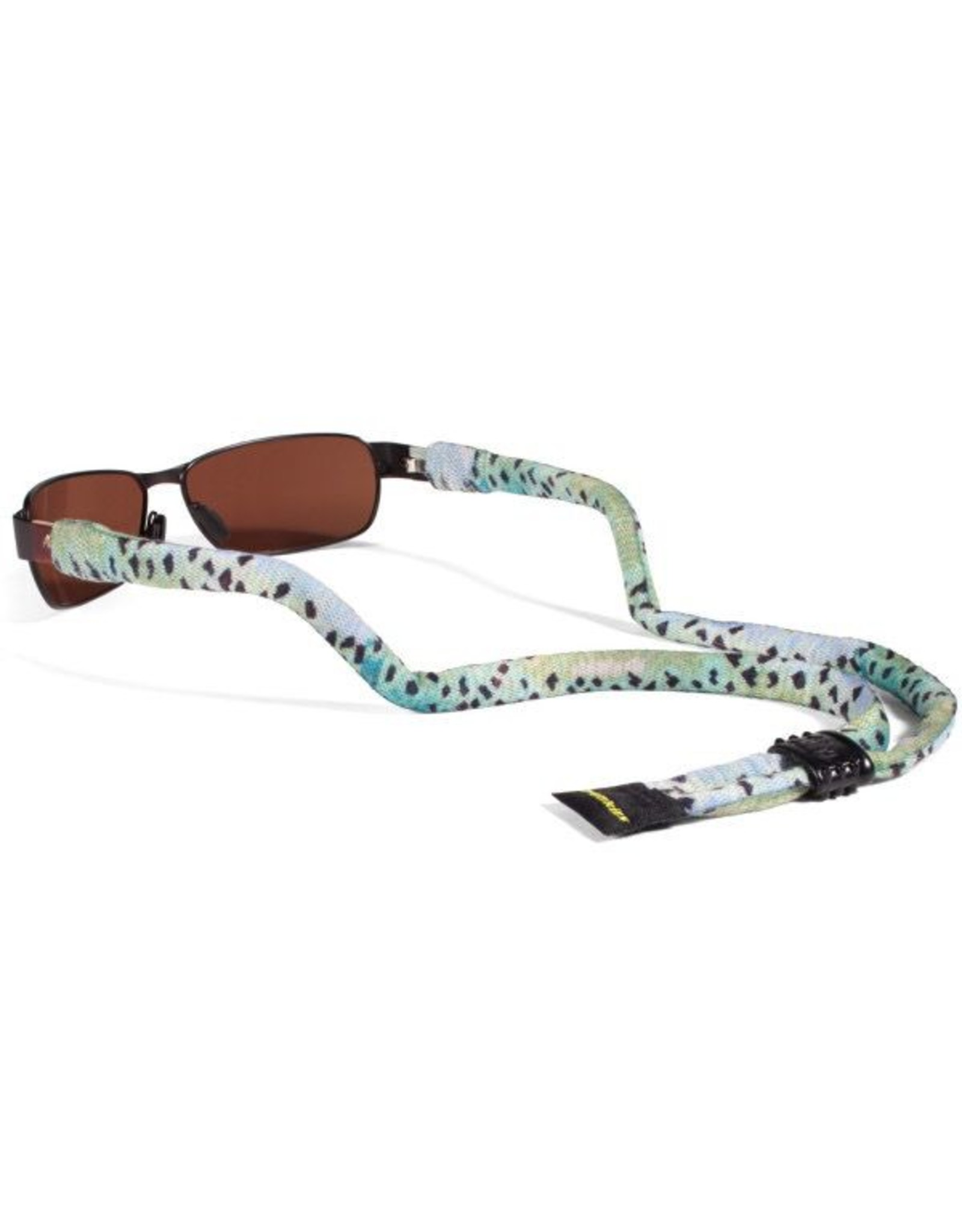 Croakies A D Maddox Suiters Rainbow Fish Skin