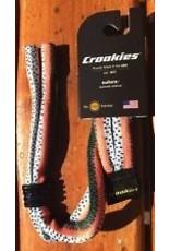 Croakies Suiter Rainbow Trout Black