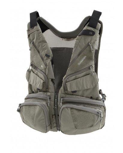 Simms Waypoints Convertible Vest....Greystone