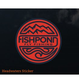 Fishpond Headwaters Sticker