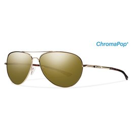 SMITH Audible (ChromaPop Bronze Mirror) Titanium/ Gold Frame