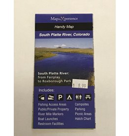South Platte River Pocket Fishing Map