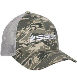 Sage Mesh Back Cap Camo
