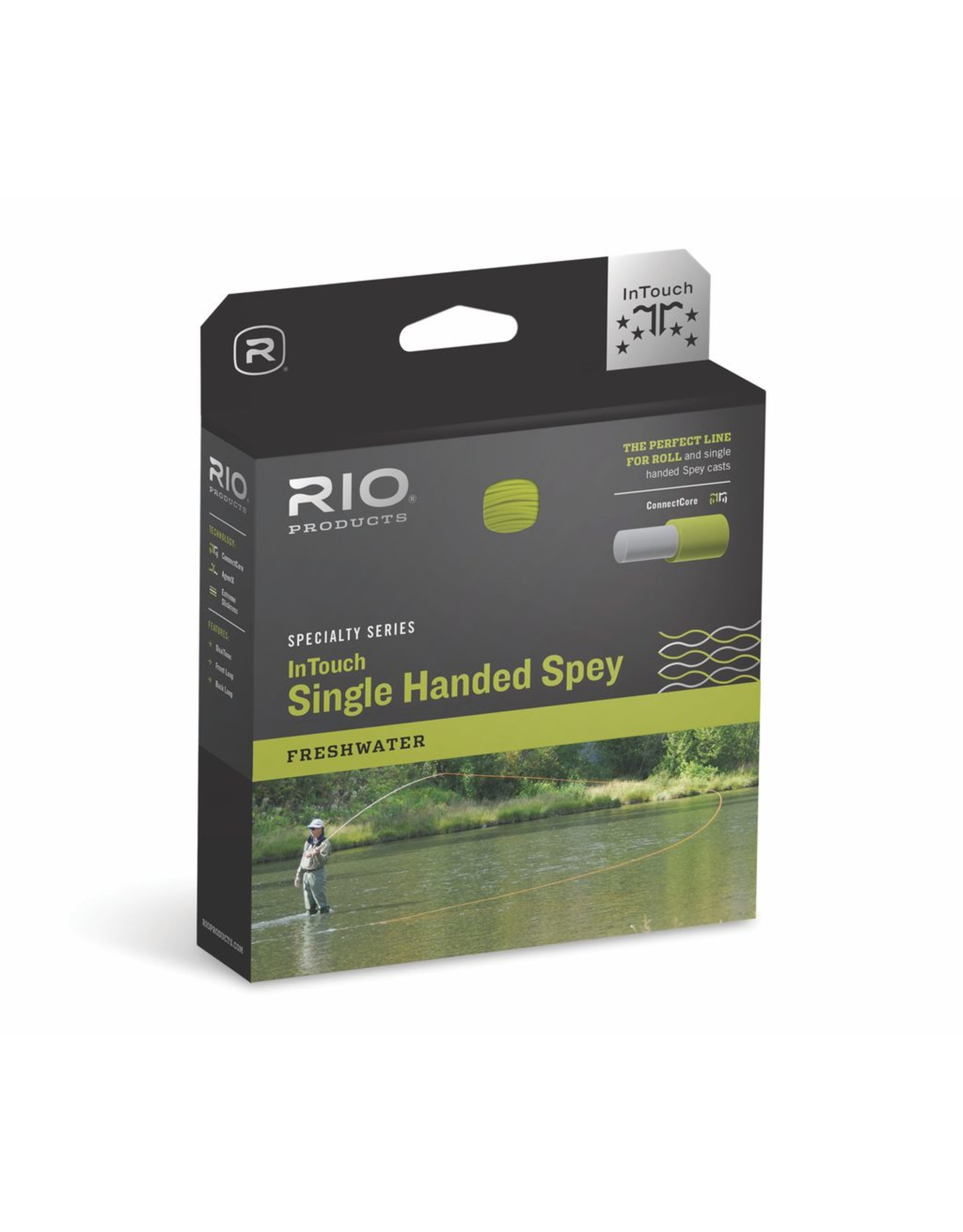 THE PERFECT LINE FOR ROLL, AND SINGLE HANDED SPEY CASTS