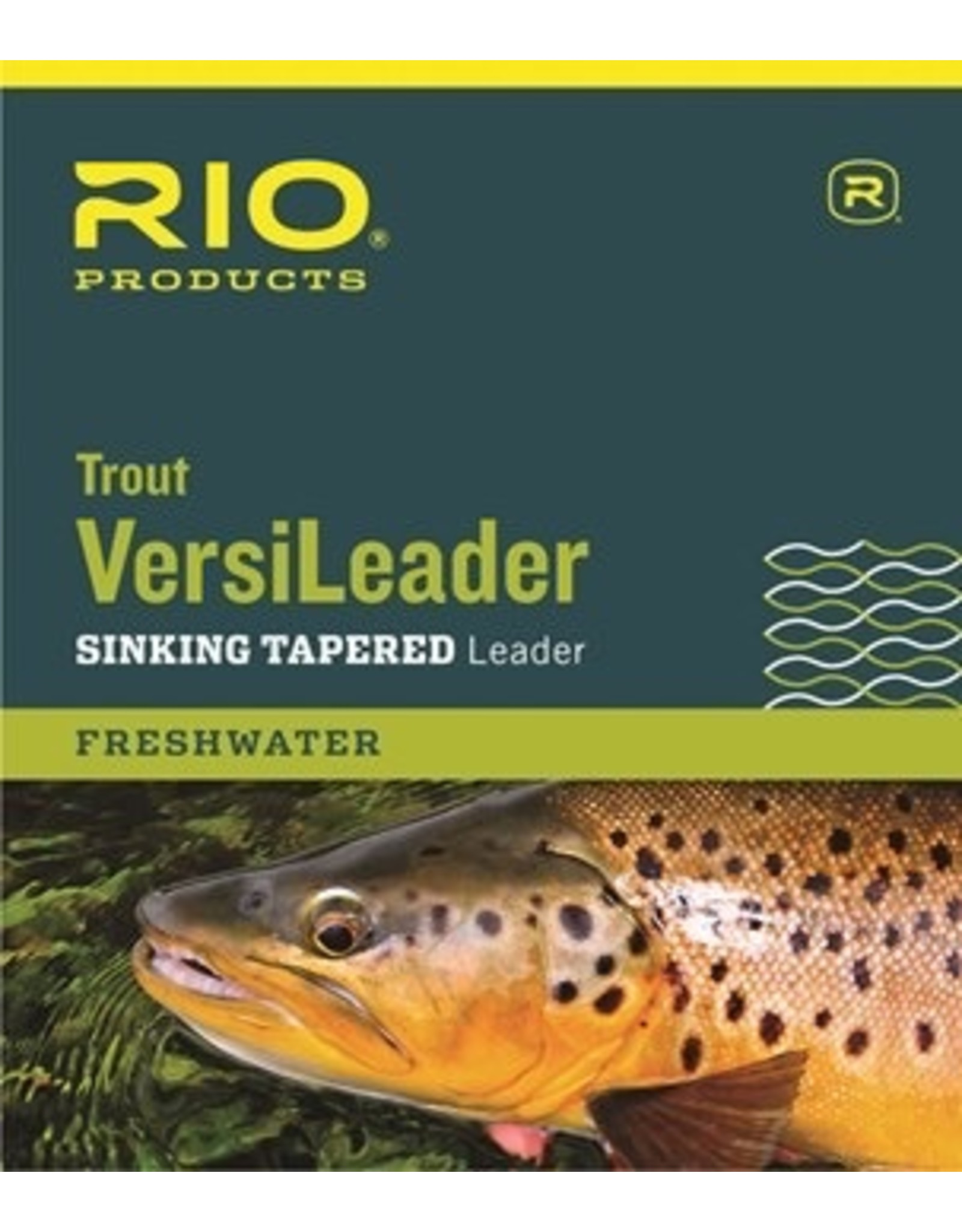 Rio Trout VersiLeader Sinking Tapered 12' 3ips 12lb