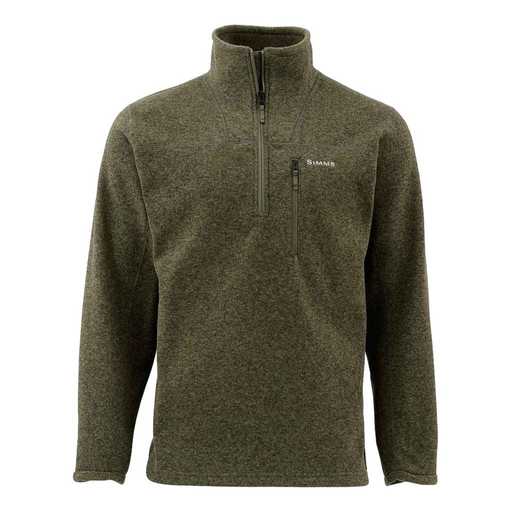 Simms Rivershed Sweater Quarter Zip