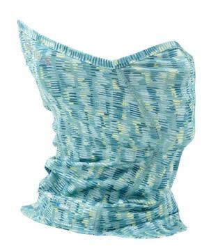 Simms Women's SunGaiter Coastal Print Aqua