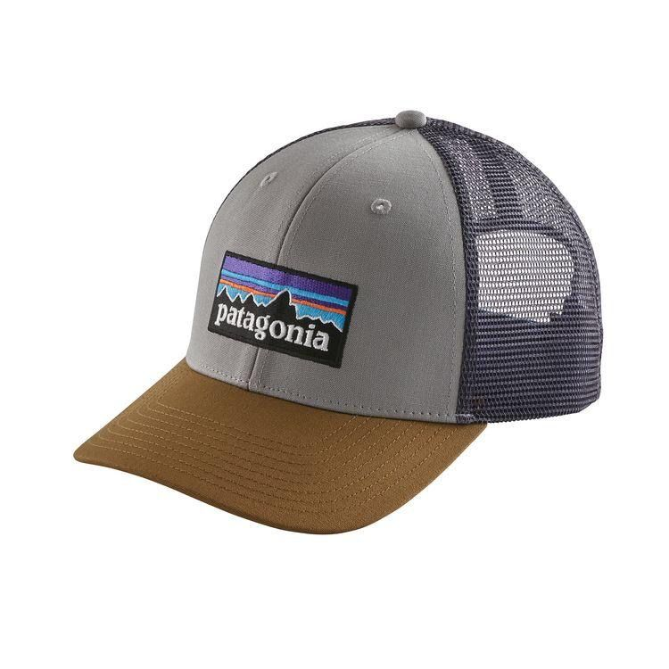Patagonia P-6 Trucker Hat drifter Grey w Coriander - Royal Gorge Anglers f0028e4876b
