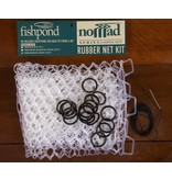 Fishpond Nomad Replacement Rubber Net Kit  Large Clear