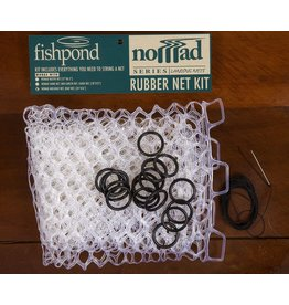 Fishpond Nomad Replacement Rubber Net Kit Small Clear
